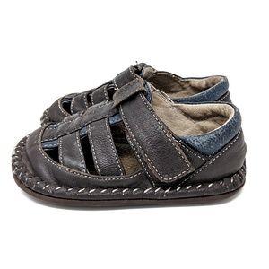 See Kai Run Baby Toddler Walking Leather Shoes